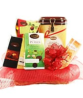 Gourmet Chocolates Basket