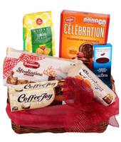 Deluxe cookies basket