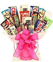 Cute bucket with chocolates<br>DELIVERY FEE INCLUDED